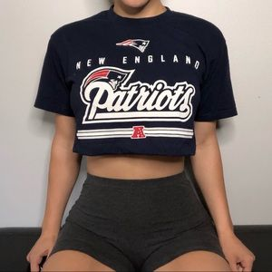 Patriots Cropped T-shirt